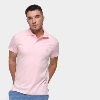 Camisa Polo Marc Ecko Masculina Algodão Abertura Lateral