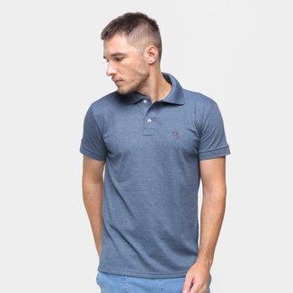 Camisa Polo Marc Ecko Masculina Algodão Confortável