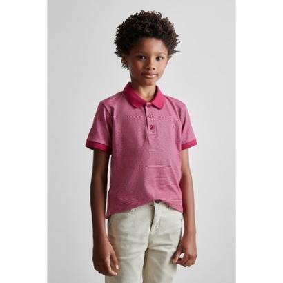 Camisa Polo Masculina Infantil Mini Pf Listra Wave Reserva Mini