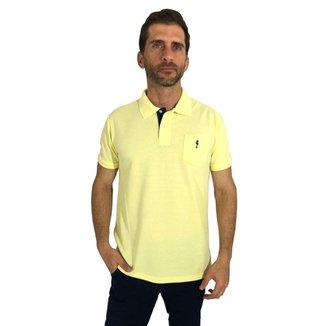Camisa Polo Mister Fish Sea Horse Bolso Masculina