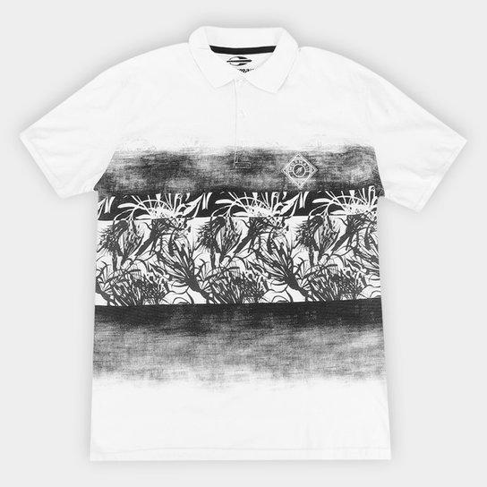 Camisa Polo Mormaii Beach Masculina - Branco