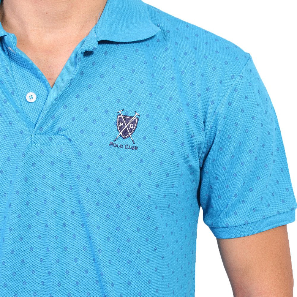 af1d47637 Camisa Polo New York Polo Club Full Print - Azul Claro - Compre ...