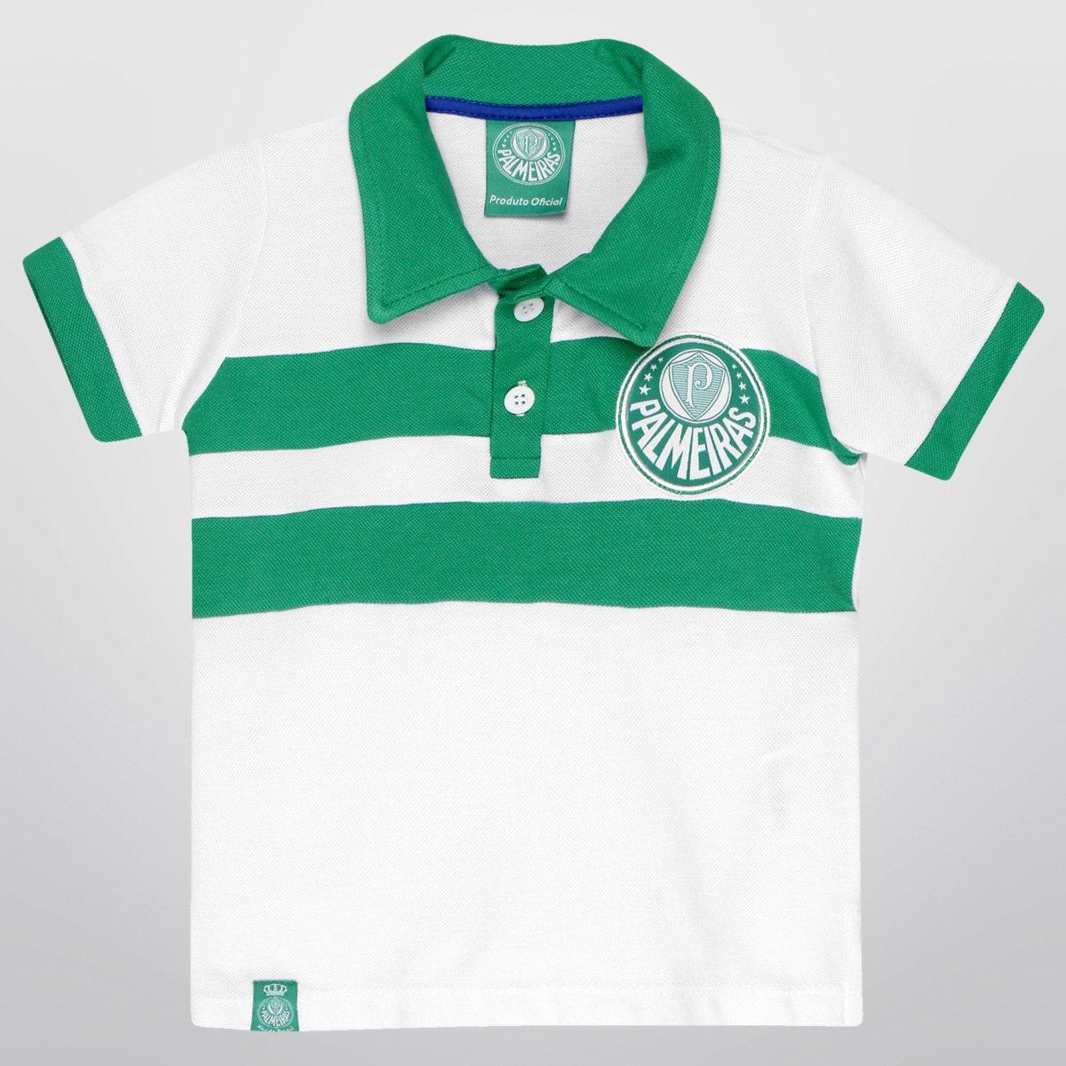 98d9469e68 Camisa Polo Palmeiras Listras Infantil | Zattini