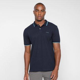 Camisa Polo Pierre Cardin Lisa Masculina