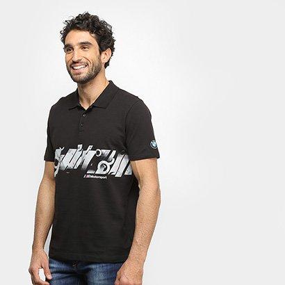 Camisa Polo Puma BMW MMS Graphic Masculina