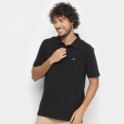 Camisa Polo Quiksilver Cotton III Masculina