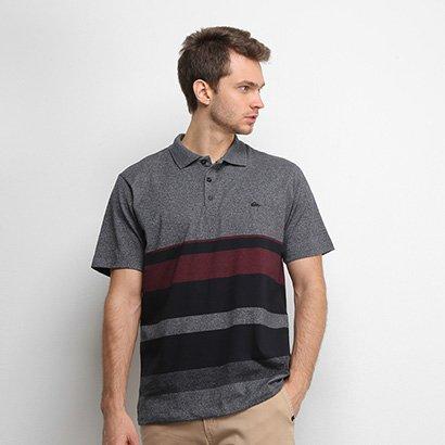 Camisa Polo Quiksilver Vista Masculina