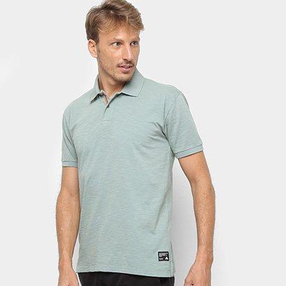 Camisa Polo Redley Básica Flame Masculina
