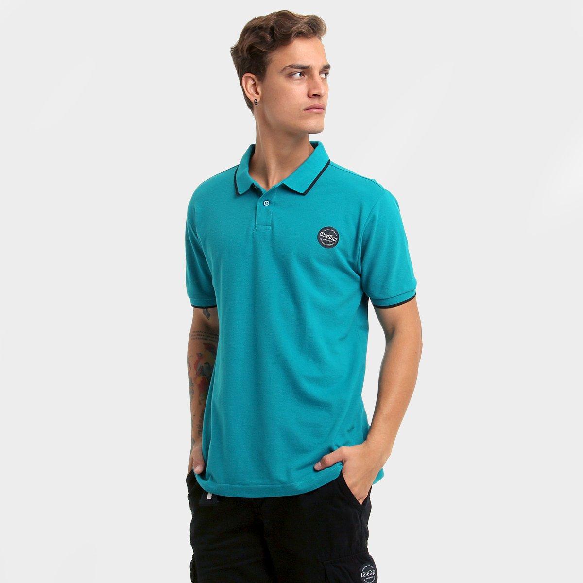 589e0a55a3 Camisa Polo Redley Piquet Friso Básica - Compre Agora