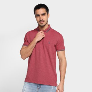 Camisa Polo Reserva Friso Básica Masculina