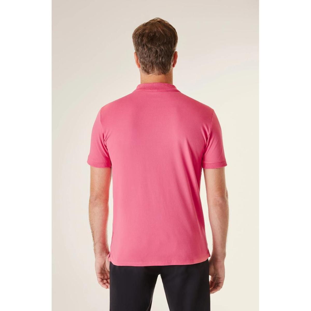 Camisa Polo Reserva Pf Pima Piquet Masculina - Pink