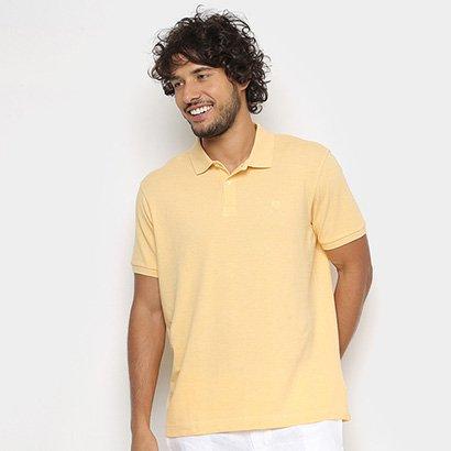 Camisa Polo Richards Mescla Manga Curta Masculina