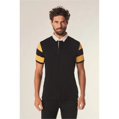 Camisa Polo Rugby Listras Reserva Masculina