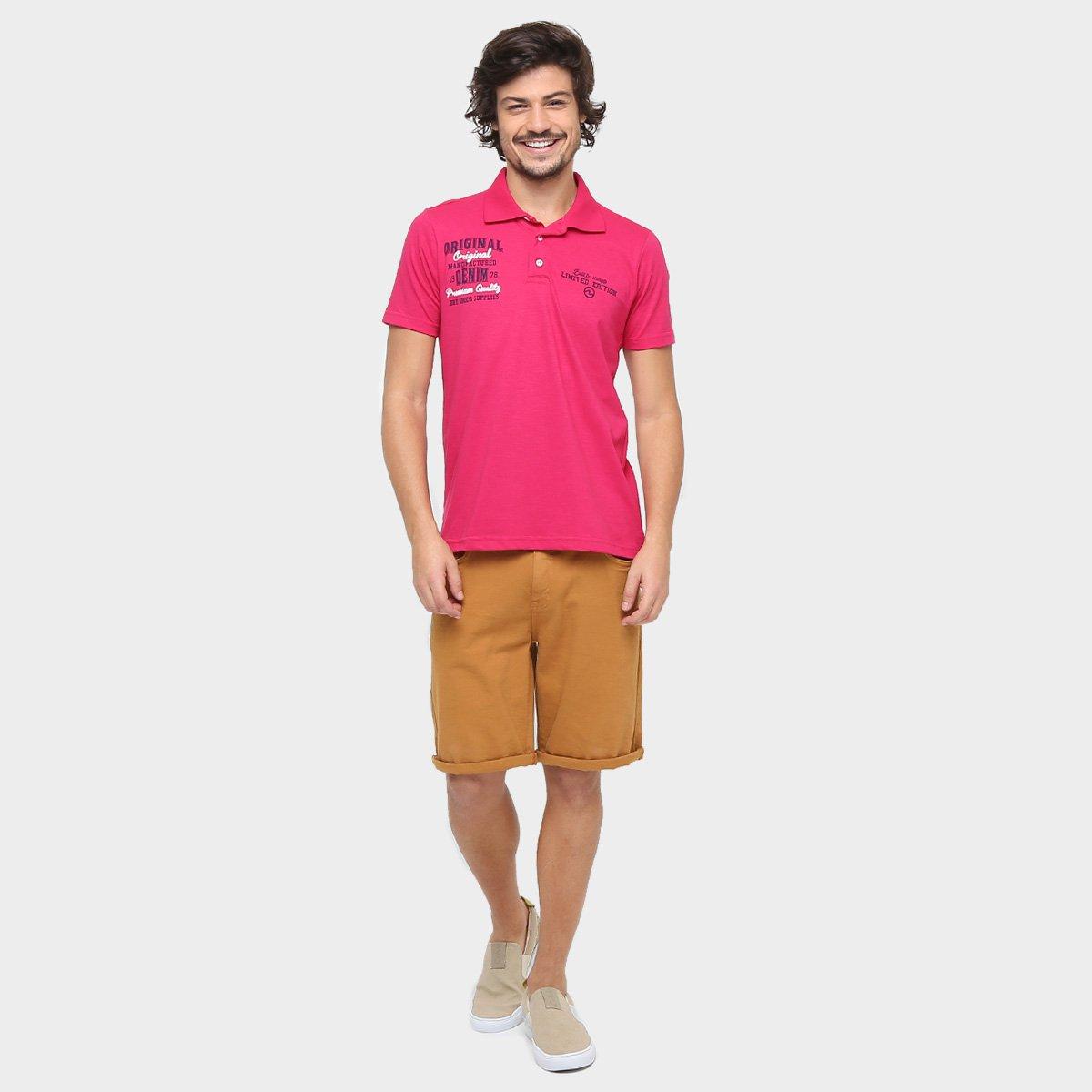 22fd420c8d Camisa Polo SBA Original Denim - Compre Agora