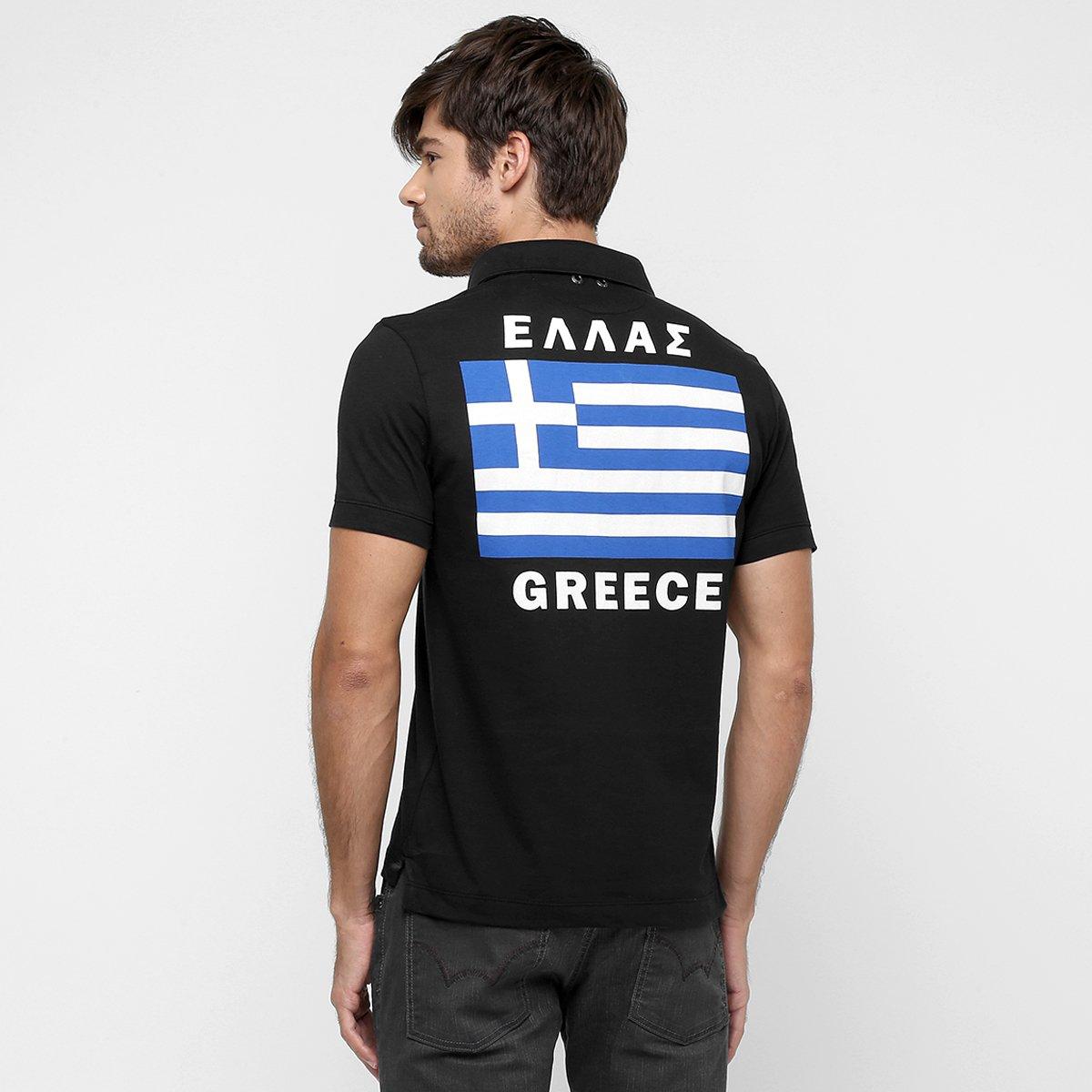 bf89a584f8 Camisa Polo Sergio K. Greece - Compre Agora