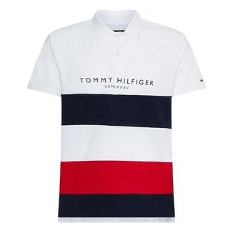 CAMISA POLO TOMMY HILFIGER BRANDED COLORBLOCK