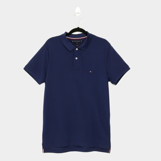 Camisa Polo Tommy Hilfiger Global Stripe Insert Masculina
