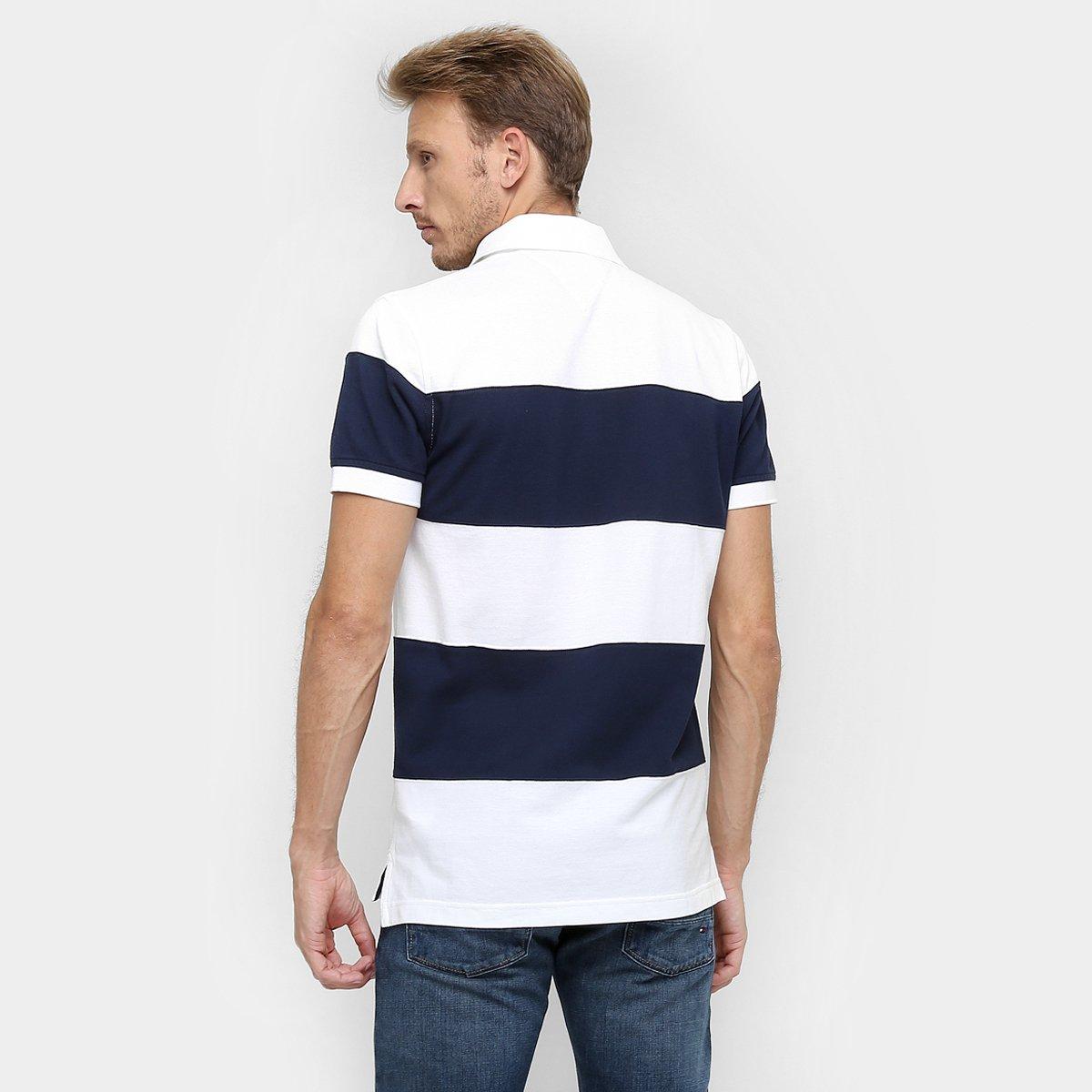 18a5fe957 Camisa Polo Tommy Hilfiger Listrada Piquet - Compre Agora | Zattini