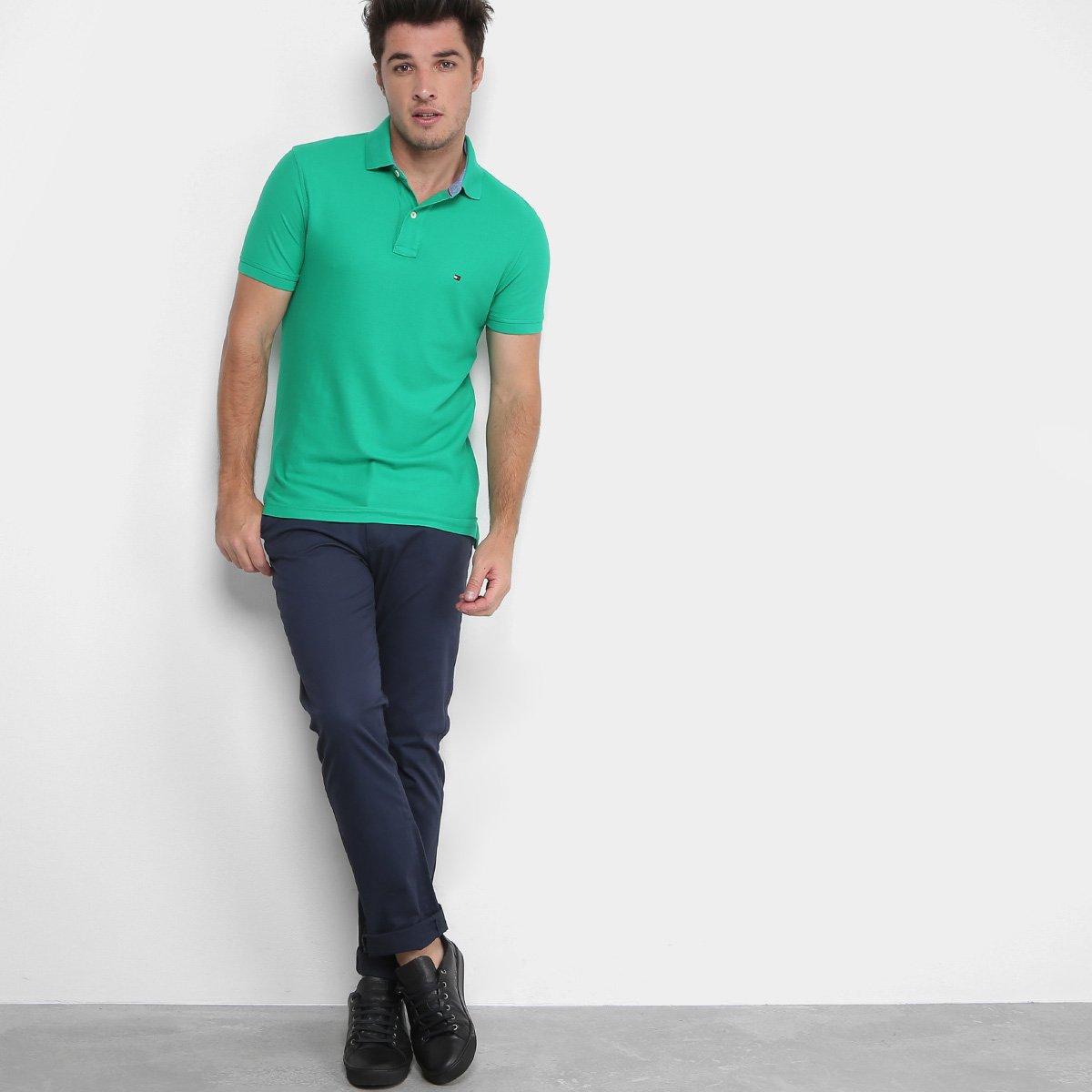 Camisa Polo Tommy Hilfiger Performance Slim Masculina - Compre Agora ... 31951a15ed701