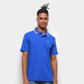 Camisa Polo Tommy Jeans Básica Masculina