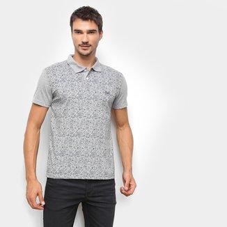 Camisa Polo Ultimato Básica Estampada Masculina