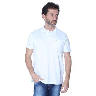 Camisa Polo Yacht Sport Com Bolso Elegance Masculina