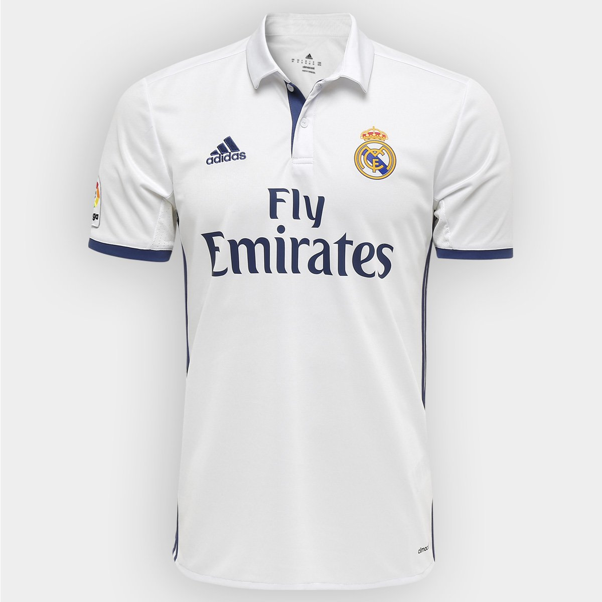 Camisa Real Madrid Home 16 17 s nº Torcedor Adidas Masculina - Compre Agora   2d8091fad4bf3