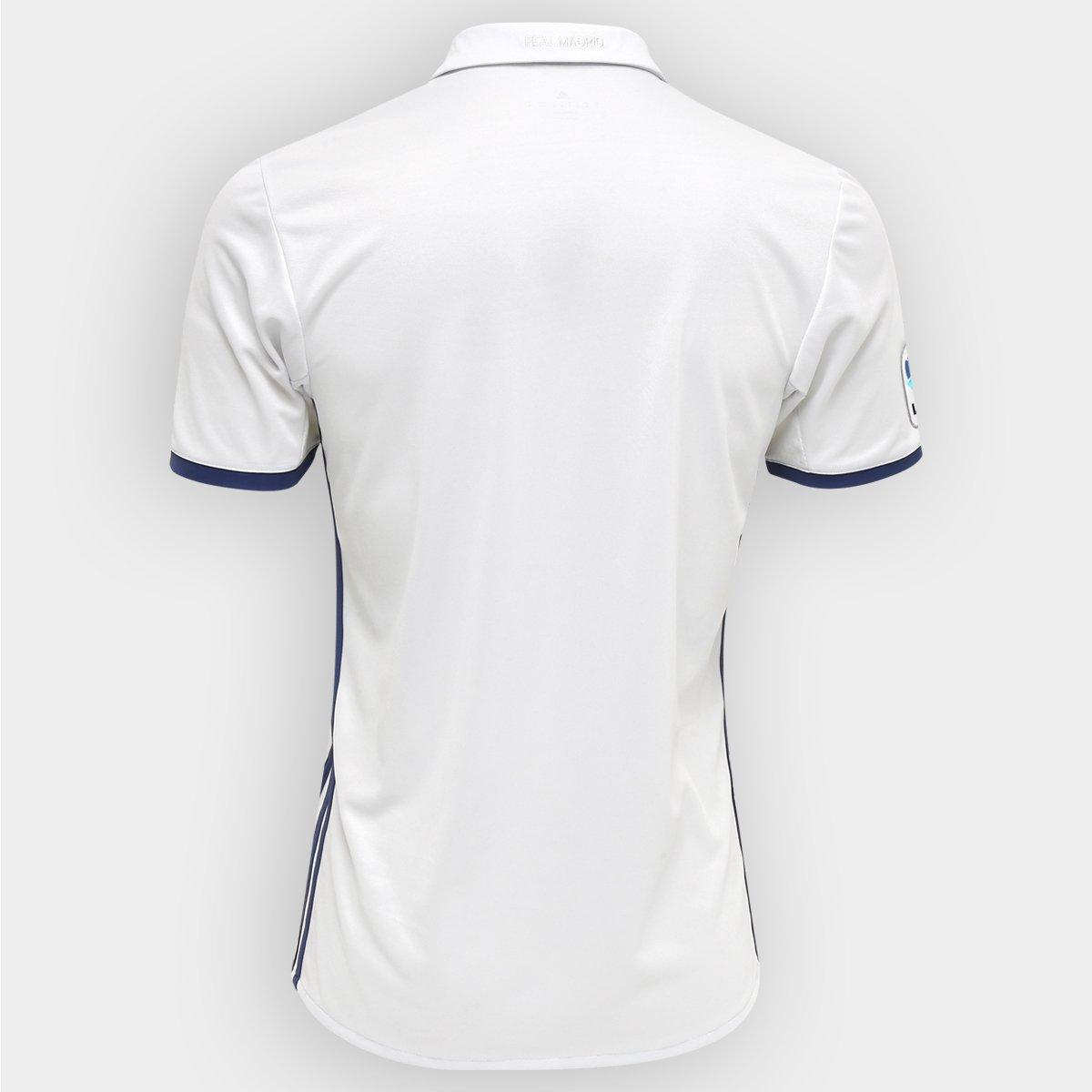 Adidas Madrid Real Snº Masculina Camisa 1617 Home Torcedor YA1n5qp  11b972e26a981d . ... 6eee09ffebbac