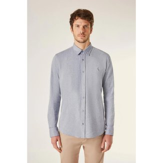 Camisa Reserva Ml Pf Oxford Color Masculina