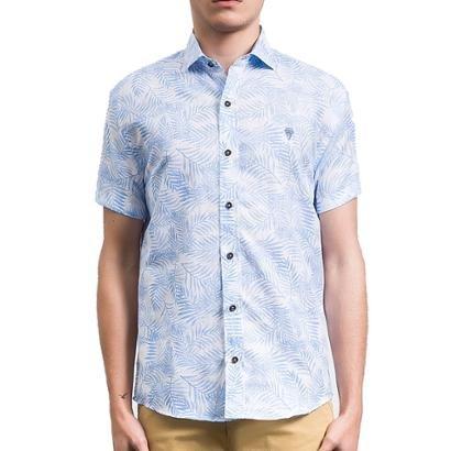 Camisa Salt 35g Manga Curta Tropical Masculina