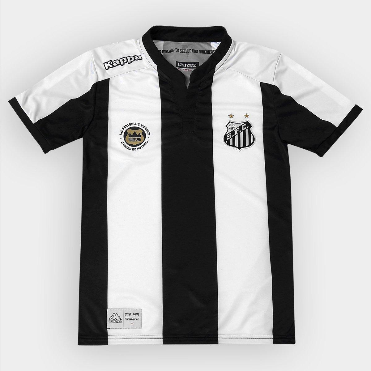 46e69adb74 Camisa Santos Infantil II 2016 s nº - Torcedor Kappa - Compre Agora ...
