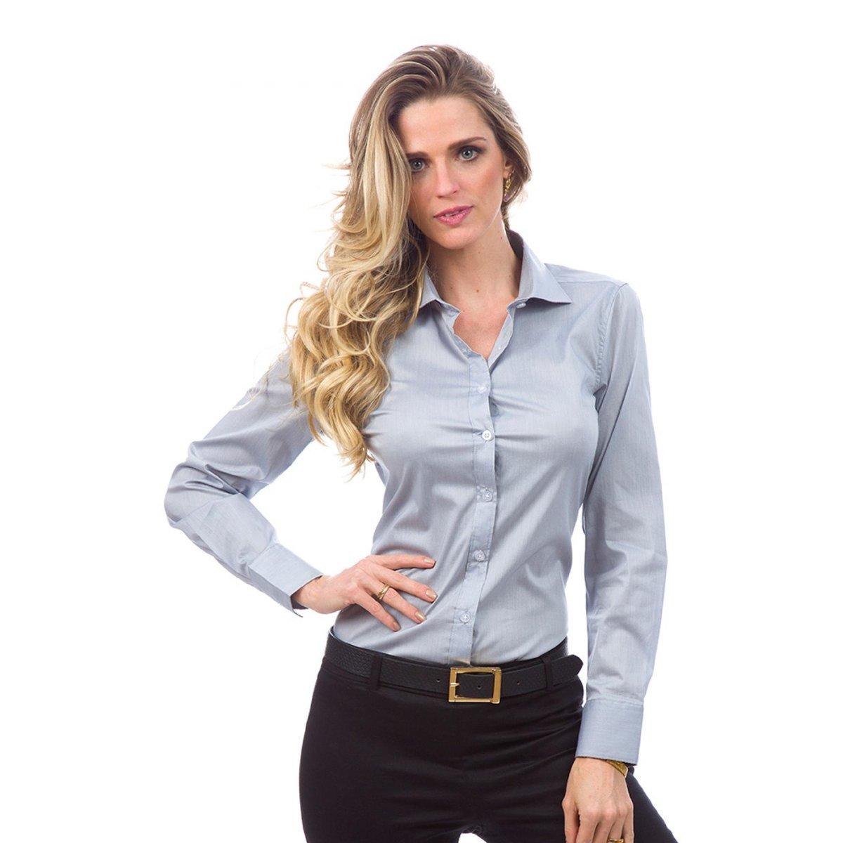 c0bfefbec2c71 Camisa Social Lisa Feminino - Compre Agora