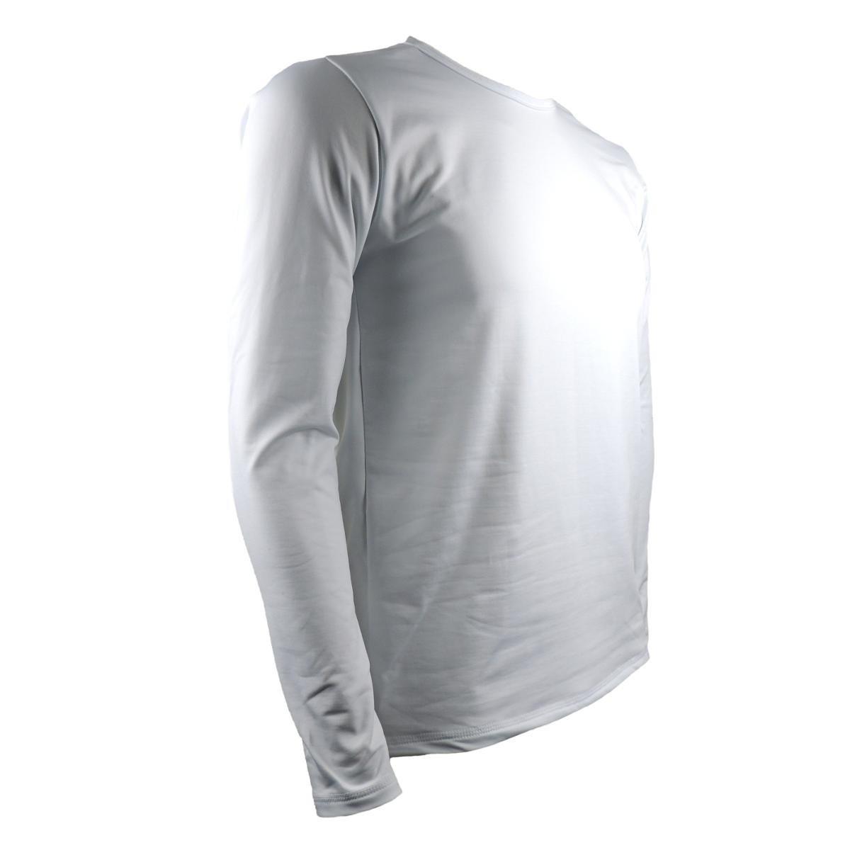 Camisa Térmica Masculina Segunda Pele Thermo Premium - Branco ... bde6af7637b24