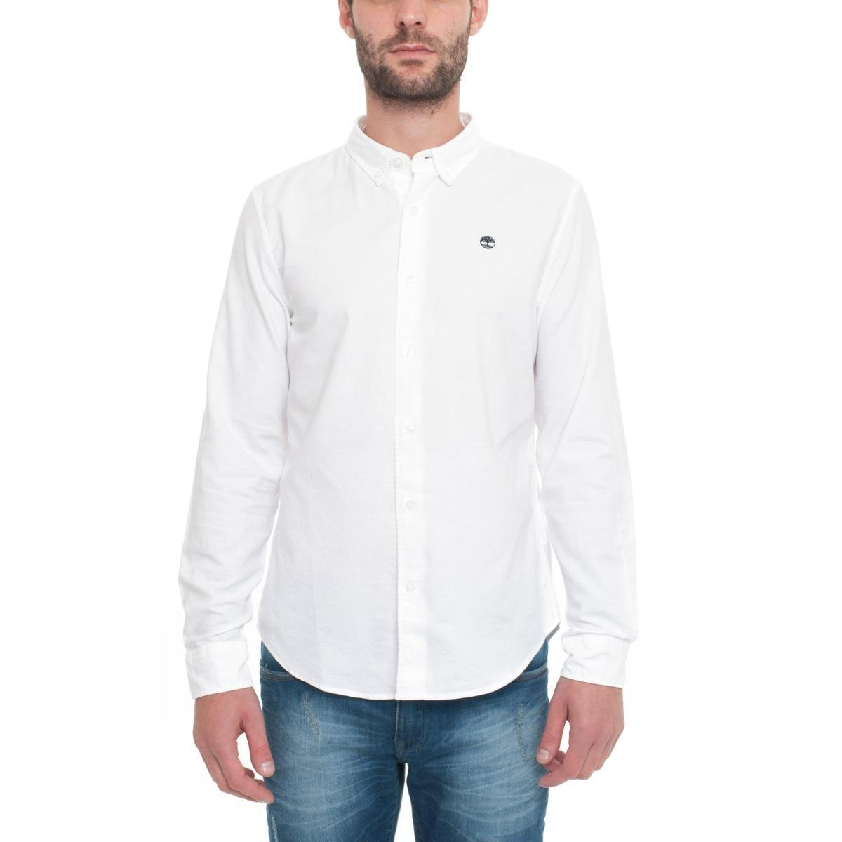 3a88b469 Camisa Timberland Manga Longa Rattle River Oxford Masculina | Zattini