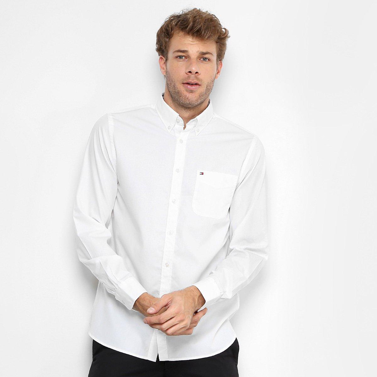 159c5668a8f Camisa Tommy Hilfiger Regular Fit Clássica Masculina - Compre Agora ...