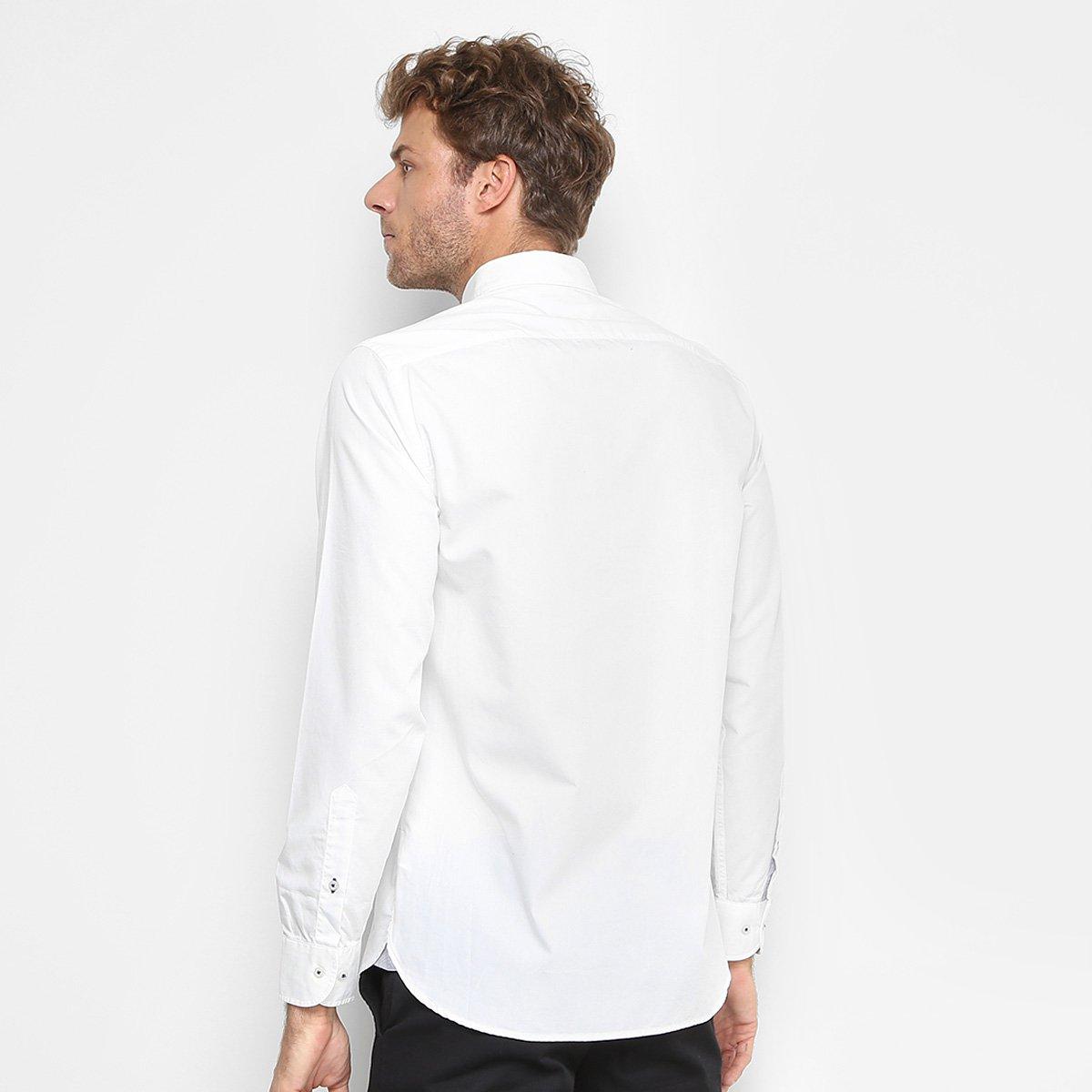 b6926c461a Camisa Tommy Hilfiger Regular Fit Clássica Masculina - Compre Agora ...