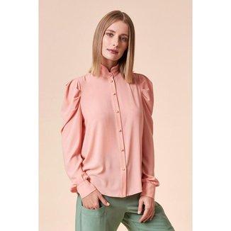 Camisa Tvz Ombro Estruturado  Feminina