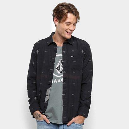 Camisa Volcom Desmond Imp Manga Longa - Masculina
