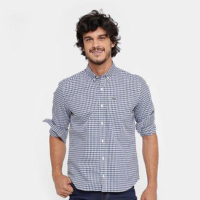 51e058923bb Camisa Xadrez Lacoste Regular Fit Masculina - Compre Agora
