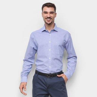Camisa Xadrez Manga Longa Tommy Hilfiger Masculina
