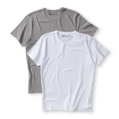 Camiseta 2 Pack Crew Levis 2 Peças