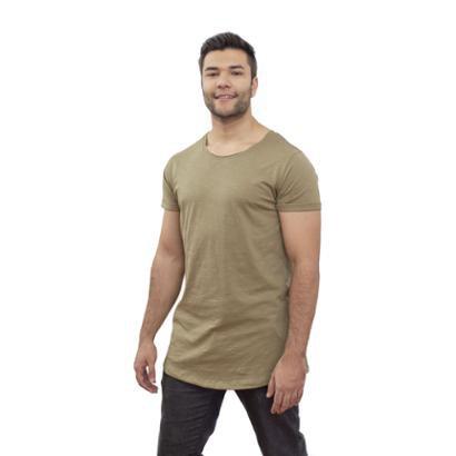 Camiseta 4 Ás Flamê Longline Masculina
