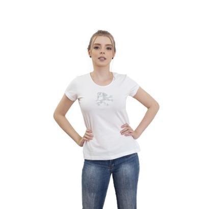 Camiseta 4 Ás Manga Curta Dragão Feminina