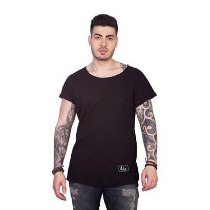 Camiseta 4 Ás Slim Longline Masculina