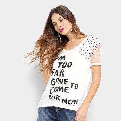 Camiseta Acostamento Fashion Pl Feminina-Feminino