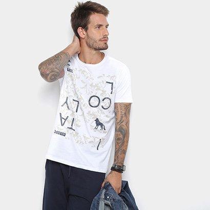 Camiseta Acostamento Floral Masculina