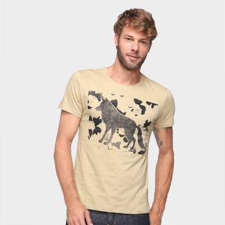 Camiseta Acostamento Lobo Masculina