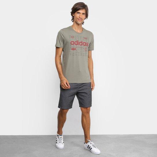 Tesoro Amedrentador Tierras altas  Camiseta Adidas Adi Int Masculina - Verde Militar | Zattini