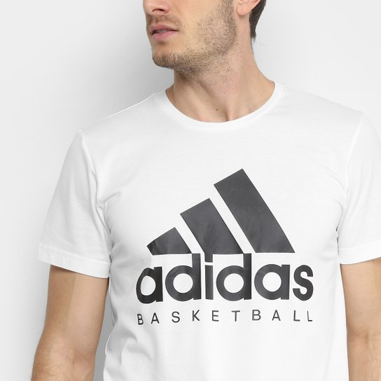 Motel Motivación Censo nacional  Camiseta Adidas Basketball Graphic Masculina | Zattini