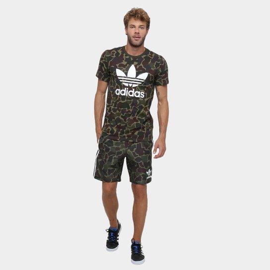 detalles para nueva llegada retro Camiseta Adidas Camo | Zattini